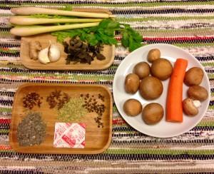 Ingrédients bouillon