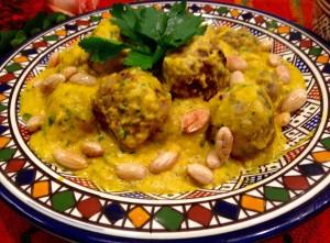boulettes safran amandes