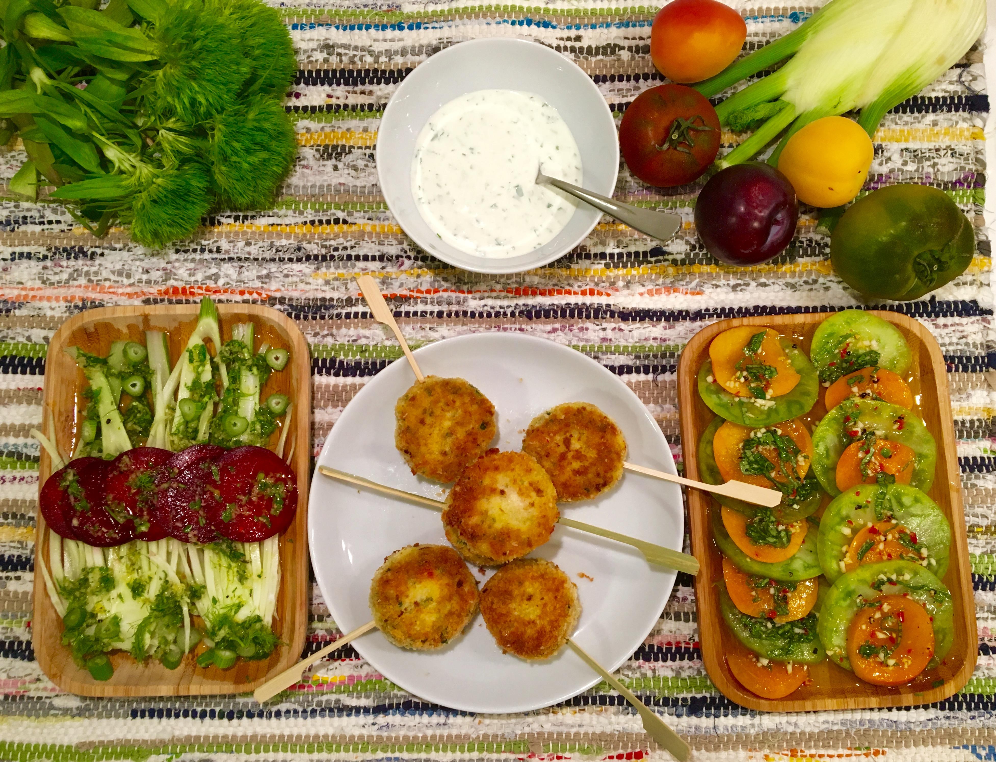 Crevettes Boulettes et tartares