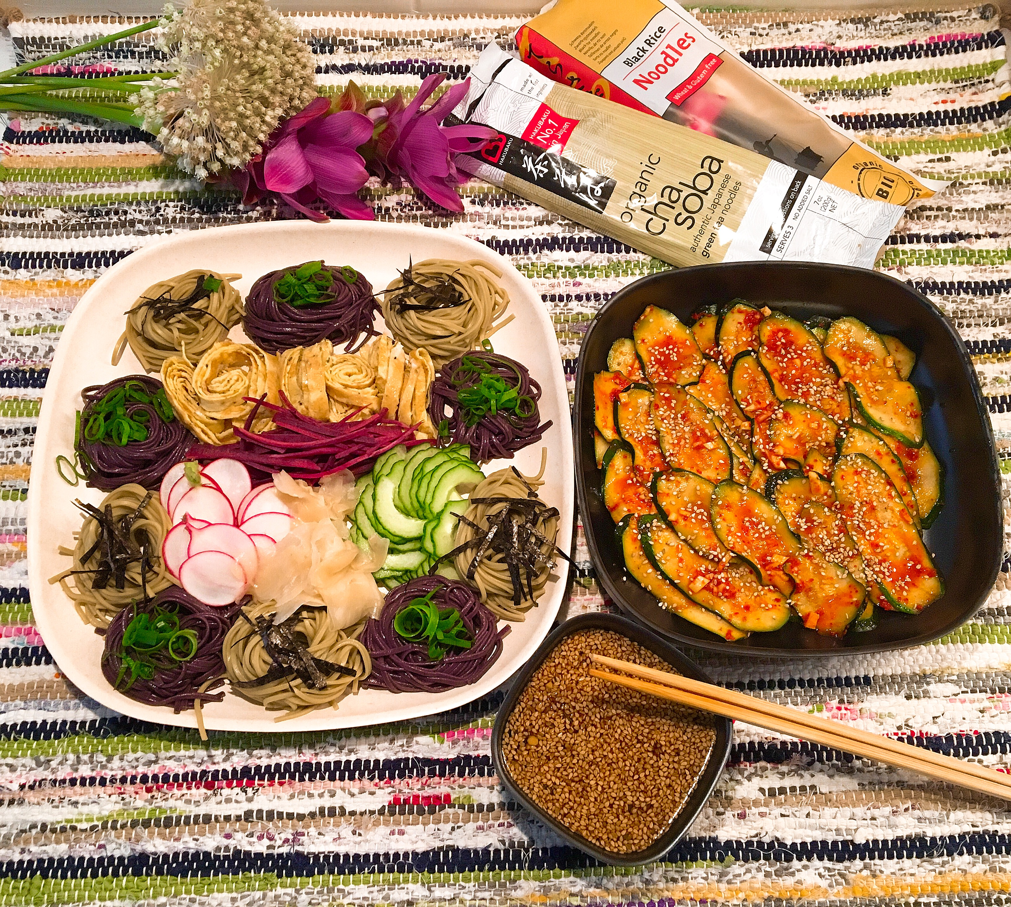 Pseudo Kimchi de courgettes!