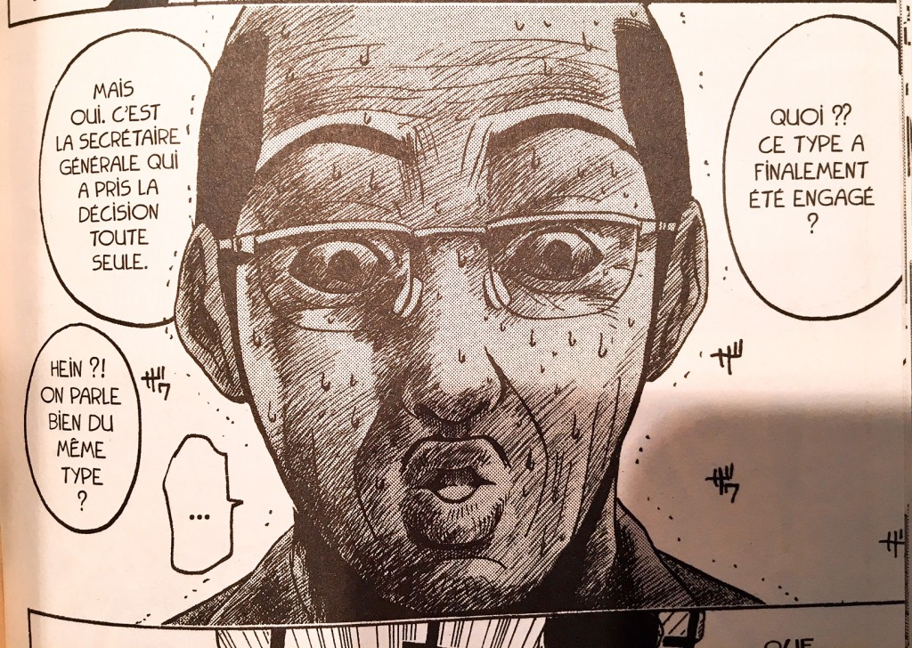 Le directeur de l'école n'est pas un grand fan d'Onizuka ...