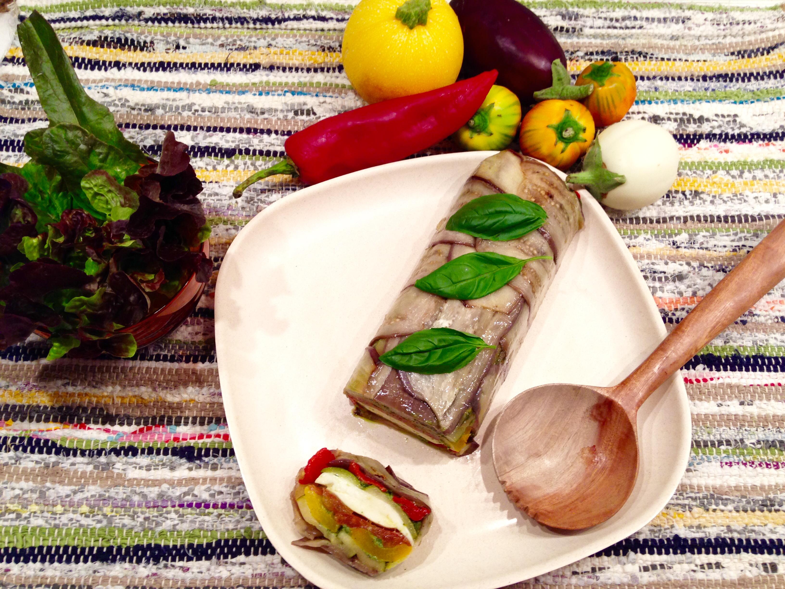 Pressée de légumes mozarella