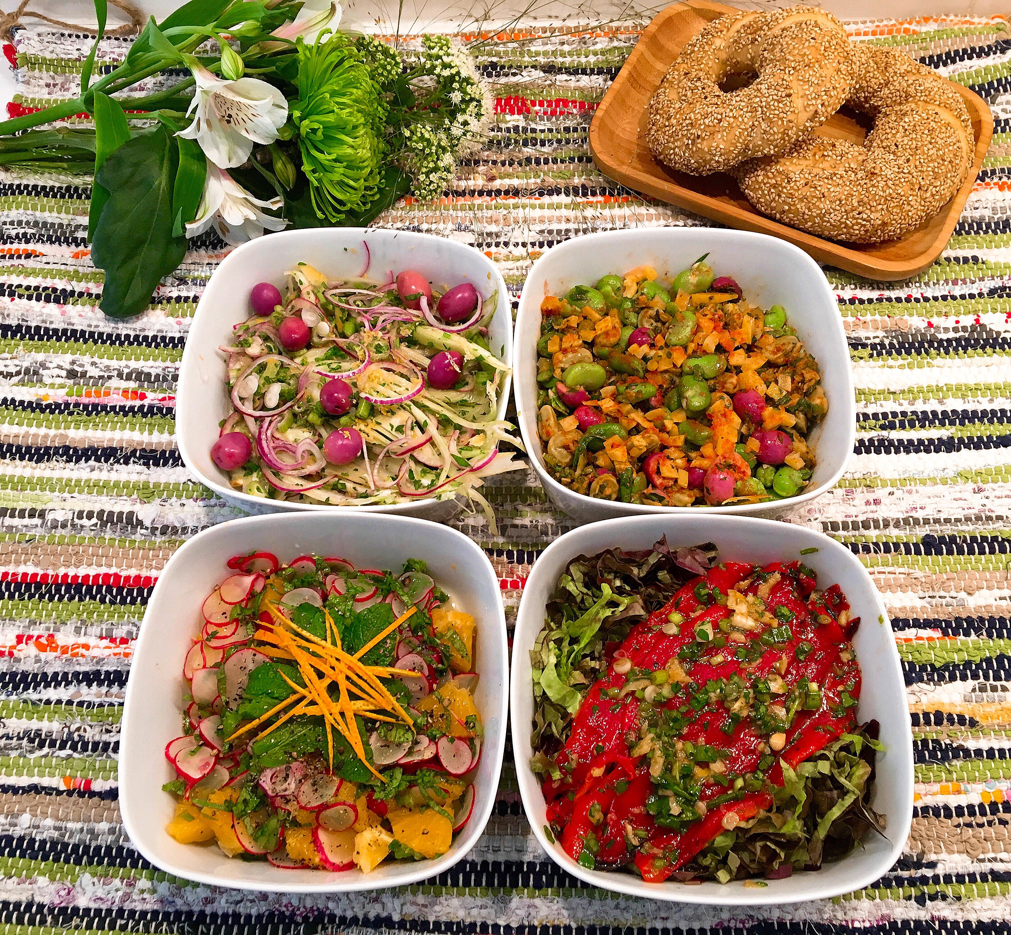 Quatre Salades De Saison